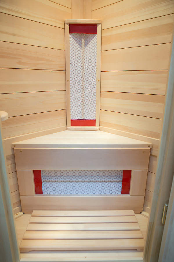 Одноместная ИК сауна с керамическими нагревателями