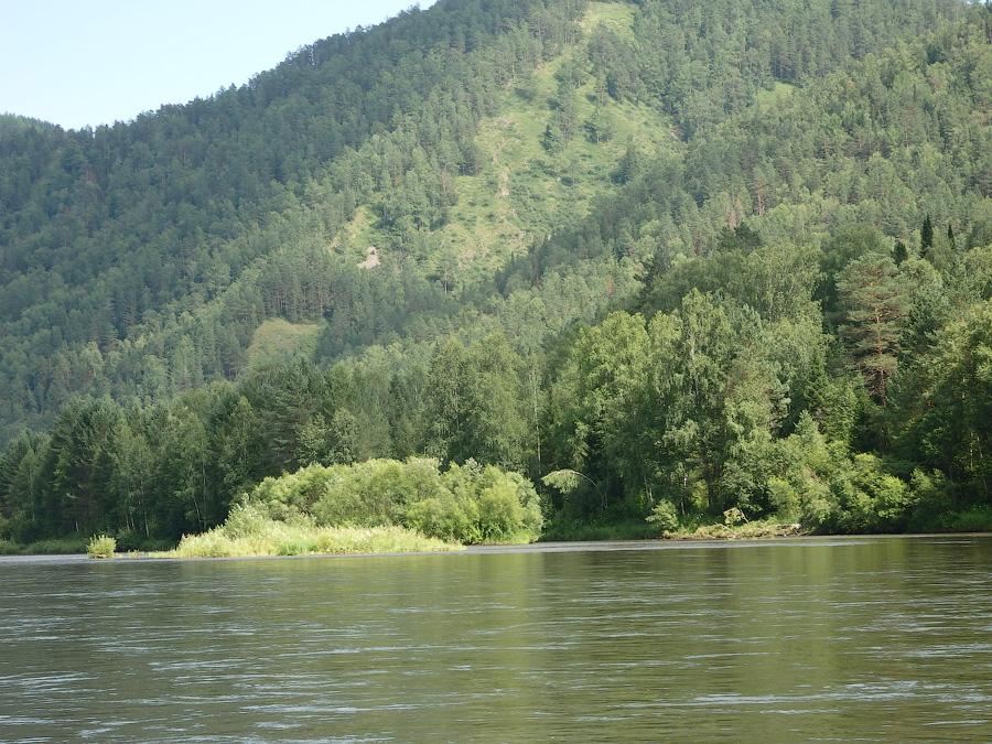 Река Мана сплав 2016