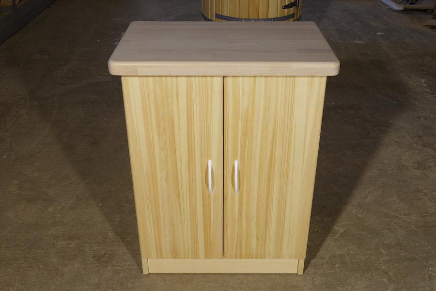 Кухонная тумбочка из кедра