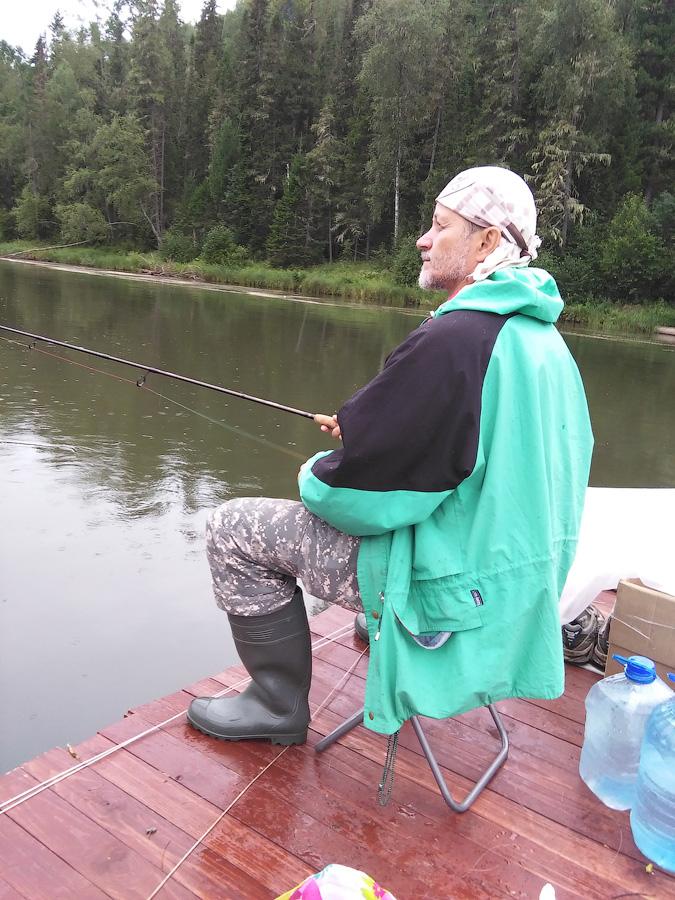 Рыбалка на сплаве по Мане