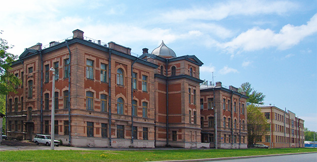 Здание института мозга человека им. Н.П.Бехтеревой