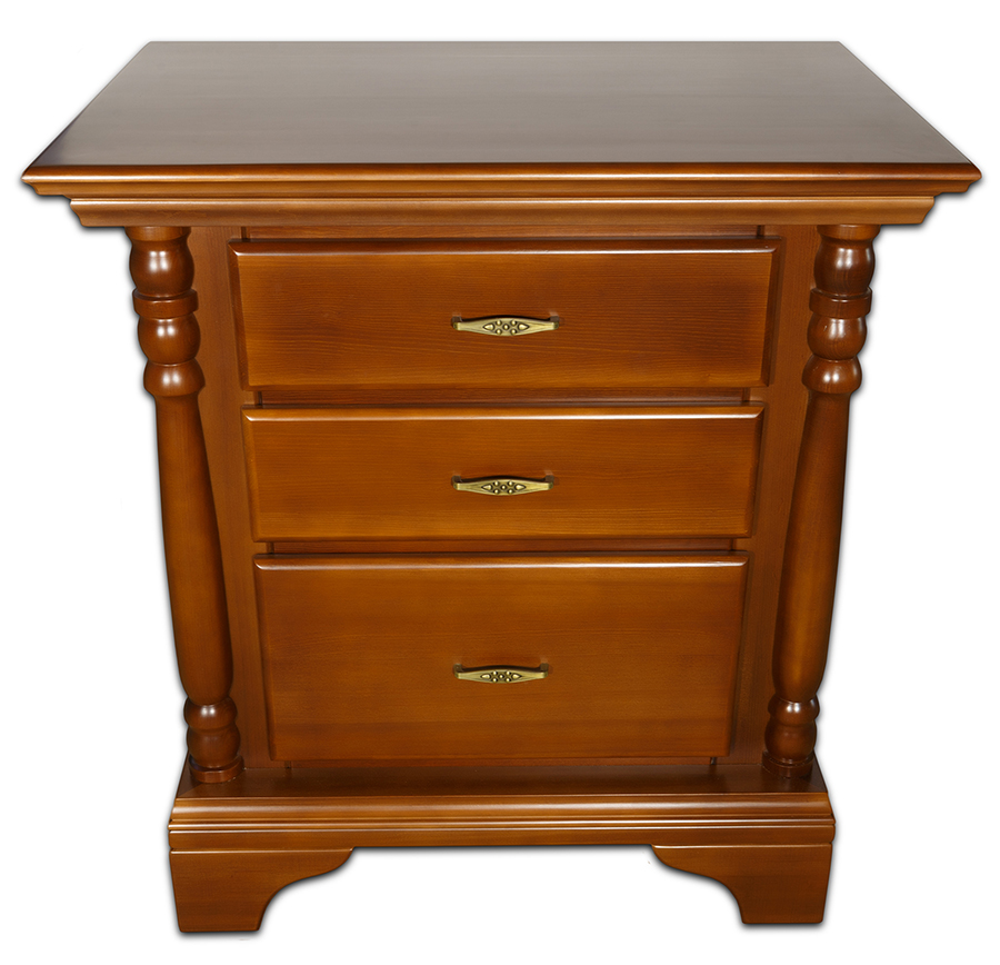 Nightstand brown 7 section