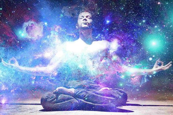 Фантазия художника на тему космическая энергия