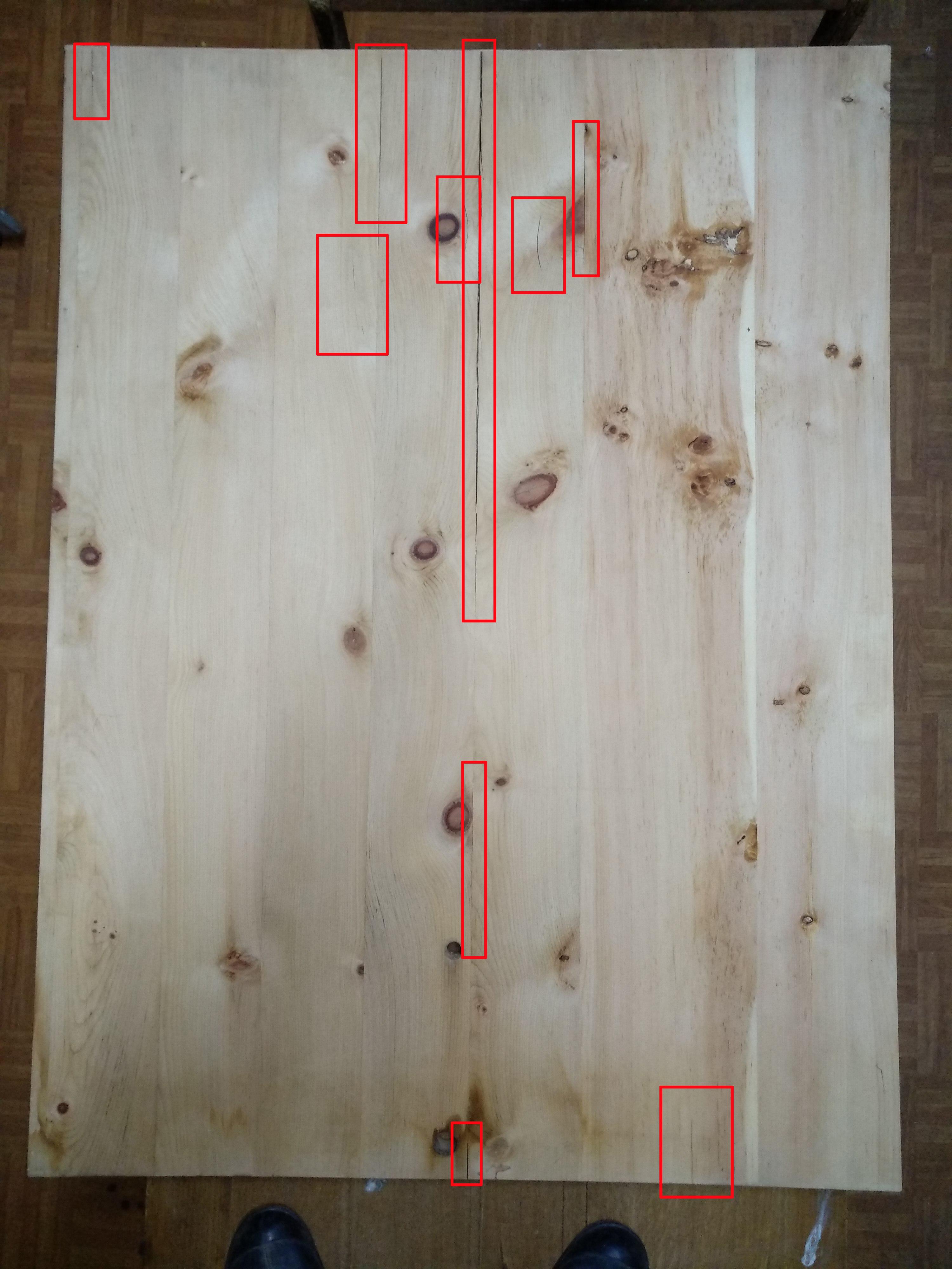 broken board