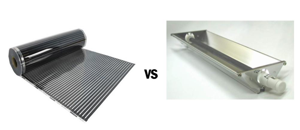 карбоновые vs керамические нагревателия для инфракрасных саун