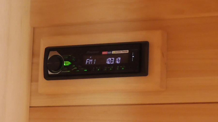 инфракрасная сауна с аудио