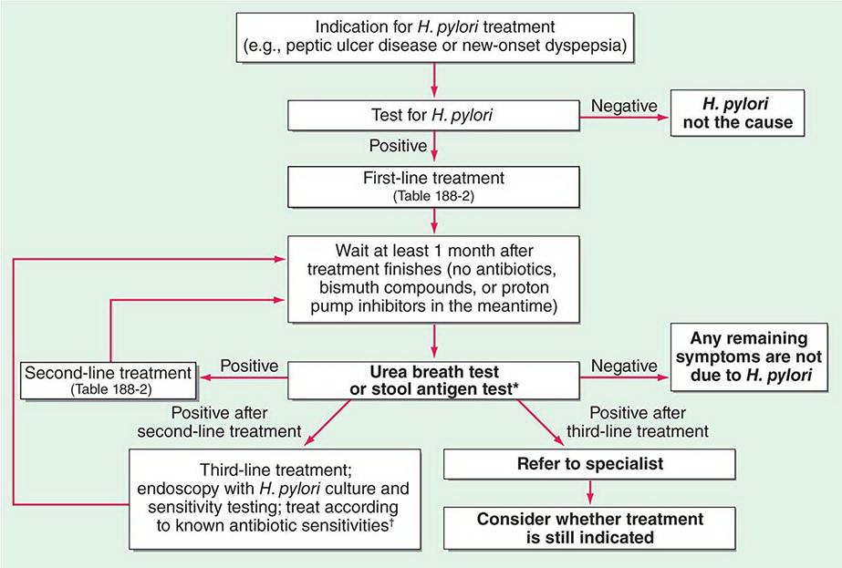 План лечения от хеликобактера