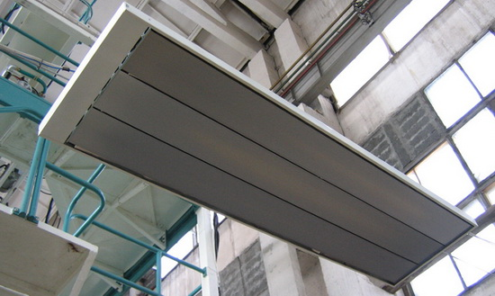 металлические инфракрасные обогреватели