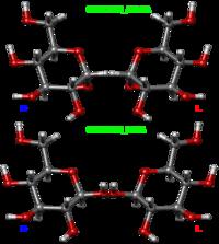 Глюкоза. Компьютерная модель молекулы.