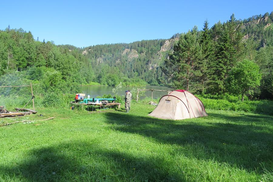 Лагерь на Мане