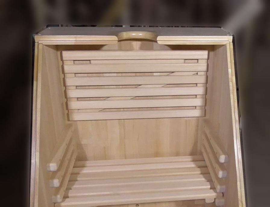 Подспинник для кедровой фитобочки