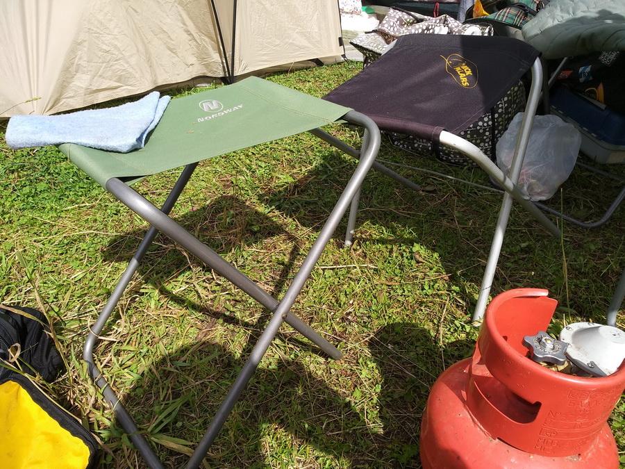 Правильный и неправильный туристические стулья