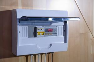 Пульт управления парогенератором для фитобочек ПЭ-2.0