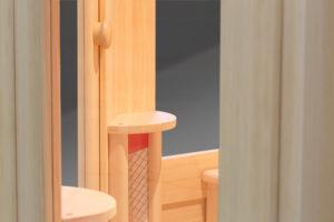 фронтальный нагреватель ик-сауны с керамическими нагревателями