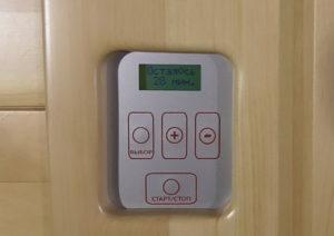 пульт управления керамическими нагревателями ик-сауны