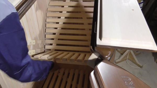 сиденье полулежачей фитобочки