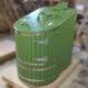 Кедровая полулежачая фитобочка премиум-класса Ладья свежего зеленого цвета