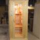 Сделали под заказ кедровую одноместную ик-сауну, стоимостью 210 000 р. (заказчик Пустовой Дмитрий)