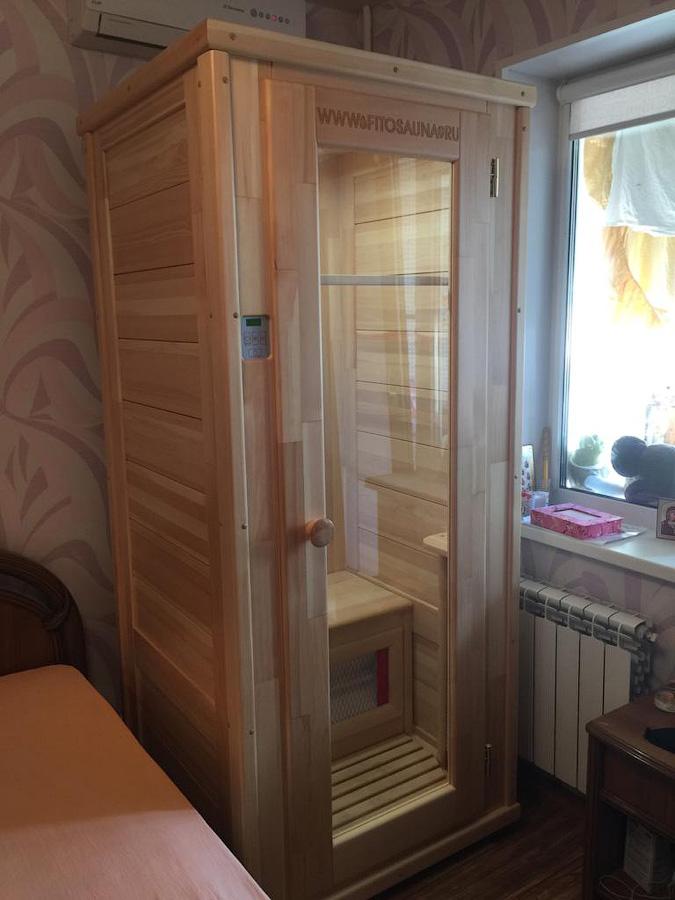инфракрасная сауна в спальне